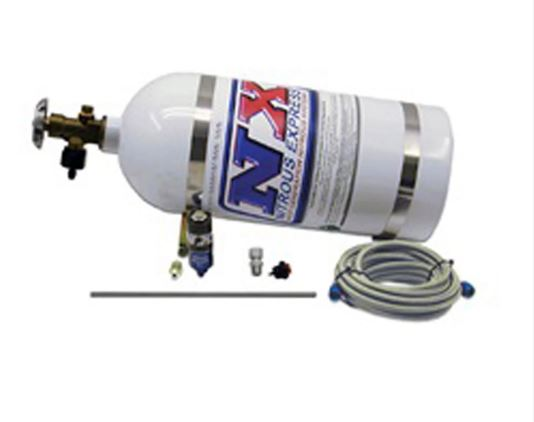 Nitrous Express -  SIMULATOR FULL SHOW PURGE KIT (INCL. 10LB BOTTLE AND ALL NECESSARY HARDWARE) (15599)
