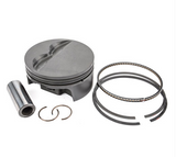 MAHLE PISTONS - Motorsports Pistons Small Block Ford PowerPak Piston & Ring Kit Forged 4032 High Silicon Low Expansion Aluminum Alloy,Compression Ratio @ 64cc: 9.3:1 (SBF300030I28)