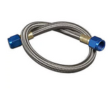 Nitrous Oxide System - NOS Stainless Steel Braided Nitrous Hose -3AN | -3AN (15060NOS)
