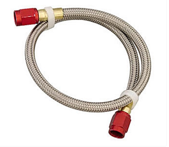 Nitrous Oxide System - NOS Stainless Steel Braided Fuel Hose -3AN | -3AN (15081NOS)