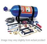 Nitrous Oxide System - NOS Cheater Nitrous System Dual Holley 4150 Carb Spray Plates (02010NOS)