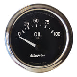 "AutoMeter - 2-1/16"" OIL PRESSURE, 0-100 PSI, AIR-CORE, AIR-CORE, COBRA (201014)"