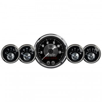 AutoMeter - 5 PC. GAUGE KIT, 3-3/8