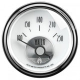 "AutoMeter - 2-1/16"" WATER TEMPERATURE, 100-250 °F, AIR-CORE, PRESTIGE PEARL (2039)"