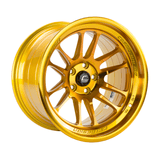 Cosmis Racing XT-206R Hyper Gold Wheel 18x11 +8mm 5x114.3