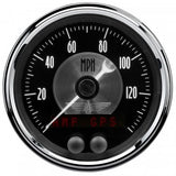 "AutoMeter - 3-3/8"" GPS SPEEDOMETER, 0-140 MPH, BLACK DIAMOND (2080)"