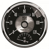 "AutoMeter - 5"" TACHOMETER/SPEEDOMETER COMBO, 8K RPM/120 MPH, ELECTRIC, PRESTIGE BLACK DIAMOND (2091)"