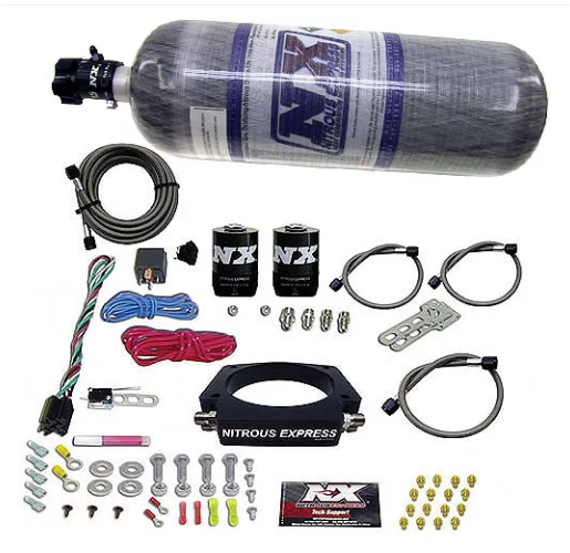 Nitrous Express - LS Nitrous Plate System 102mm 4-Bolt Applications (20933-12)