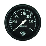 "AutoMeter - 2-5/8"" OIL TEMPERATURE, 100-340 °F, 6 FT., MECHANICAL, FULL SWEEP, AUTO GAGE (2314)"