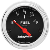 "AutoMeter - 2-1/16"" FUEL LEVEL, 0-30 Ω, AIR-CORE, GM, SSE (2517)"