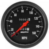 "AutoMeter - 5"" SPEEDOMETER, 0-160 MPH, MECHANICAL, Z-SERIES (2691)"