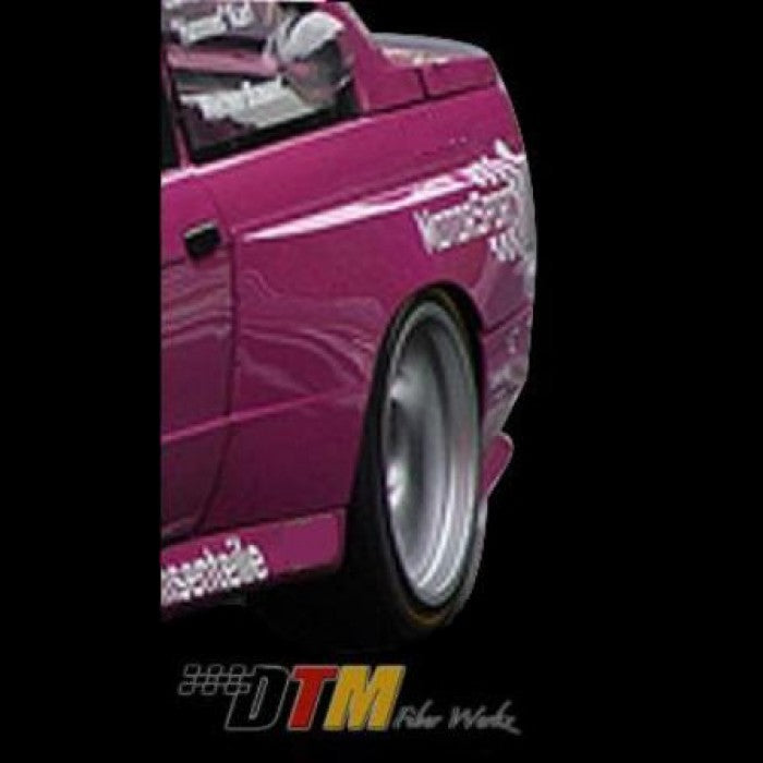 DTM Fiberwerkz - BMW E30 M3 OEM Style Widebody Rear Fenders