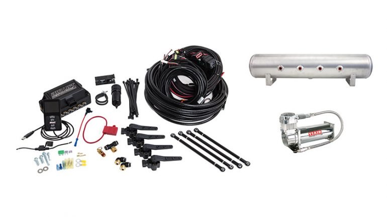 AIR LIFT PERFORMANCE - 3H (1/4″ AIR LINE, 4 GALLON 7-PORT TANK, VIAIR 444C COMPRESSOR) (27694)