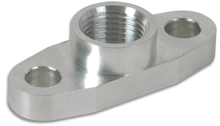 Vibrant Performance - Aluminum Oil Flange for GT32-GT55R (Tapped - 1/2