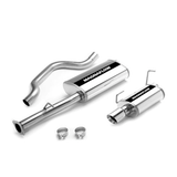 "TSP - Magnaflow Performance Exhaust 2006 TrailBlazer SS 6.0L V-8, rear exit, 2.5/3"" SS tubing, 3.5"" p-SS tip (116-16656)"