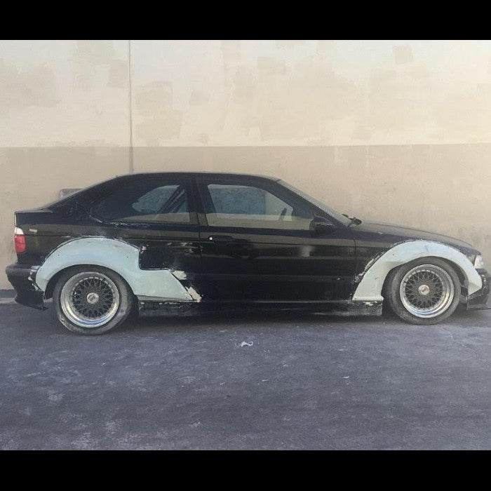 FULL SET 4 PICES PERFECT FIT !!!!! BMW 3 E36 FENDER FLARES
