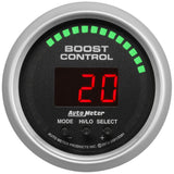 "AutoMeter - 2-1/16"" BOOST CONTROLLER, 30 IN HG/30 PSI, SPORT-COMP (3381)"