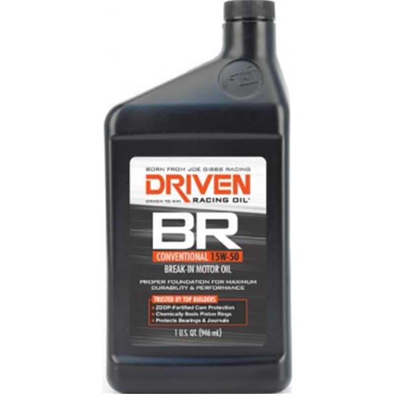 TSP - Driven Racing 00106 BR Break In Oil, 15W-50, Per Quart (76-00106)