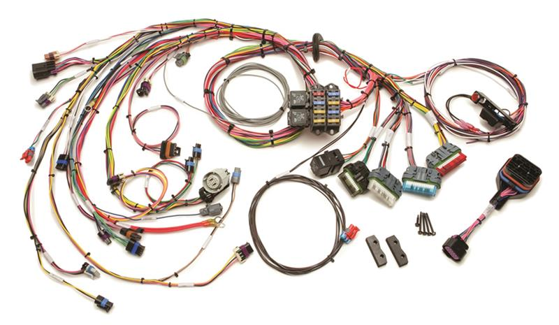 Painless Wiring - Painless Performance Products EFI Wiring Harness 1996-99 GM Vortec 4.3L V6 (60214)