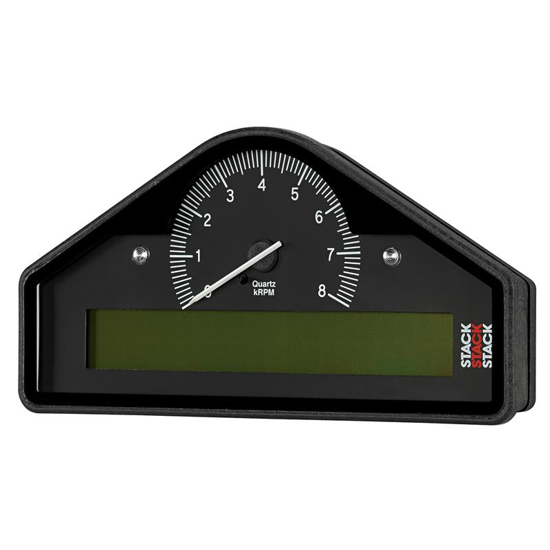 AutoMeter - ACTION REPLAY DASH, BLK, 0-8K RPM (PSI, DEG. C, MPH) (ST8100AR-A-U)