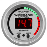 "AutoMeter - 2-1/16"" WIDEBAND PRO PLUS AIR/FUEL RATIO, 6:1-20:1 AFR, ULTRA-LITE (4397)"