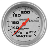 "AutoMeter - 2-5/8"" WATER TEMPERATURE, 120-240 °F, MECHANICAL, ULTRA-LITE (4432)"