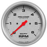 "AutoMeter - 5"" IN-DASH TACHOMETER, 0-6,000 RPM, ULTRA-LITE (4476)"