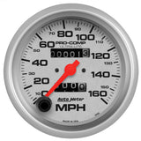 "AutoMeter - 3-3/8"" SPEEDOMETER, 0-160 MPH, MECHANICAL, ULTRA-LITE (4493)"