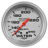 "AutoMeter - 2-5/8"" WATER TEMPERATURE, 120-240 °F, MECHANICAL, LIQUID FILLED, ULTRA-LITE (4632)"