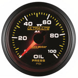 "AutoMeter - 2-1/16"" OIL PRESSURE, 0-100 PSI, MECHANICAL, ULTRA-LITE II (4921)"
