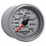 "AutoMeter - 2-1/16"" WATER TEMPERATURE, 140-280 °F, 6 FT., MECHANICAL, ULTRA-LITE II (4931)"