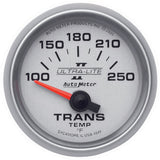 "AutoMeter - 2-1/16"" TRANSMISSION TEMPERATURE, 100-250 °F, AIR-CORE, ULTRA-LITE II (4949)"