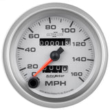 "AutoMeter - 3-3/8"" SPEEDOMETER, 0-160 MPH, MECHANICAL, ULTRA-LITE II (4993)"
