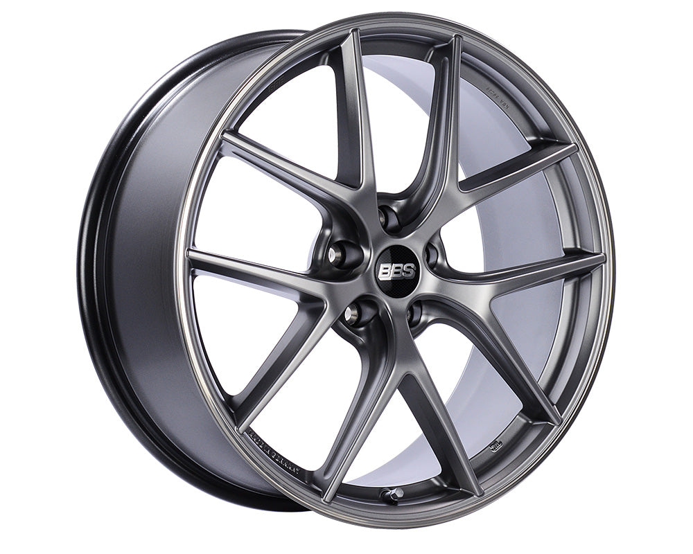 BBS - CI-R 20x9 5x112 25 Platinum Center | Polished Rim (CI0201PSPO)