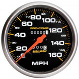 "AutoMeter - 5"" SPEEDOMETER, 0-160 MPH, MECHANICAL, PRO-COMP (5154)"