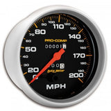 "AutoMeter - 5"" SPEEDOMETER, 0-200 MPH, MECHANICAL, PRO-COMP (5156)"
