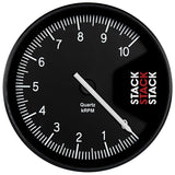 AutoMeter - TACHOMETER, PROFESSIONAL, ACTION REPLAY, 125MM, BLK, 0-10K RPM (ST430-010)