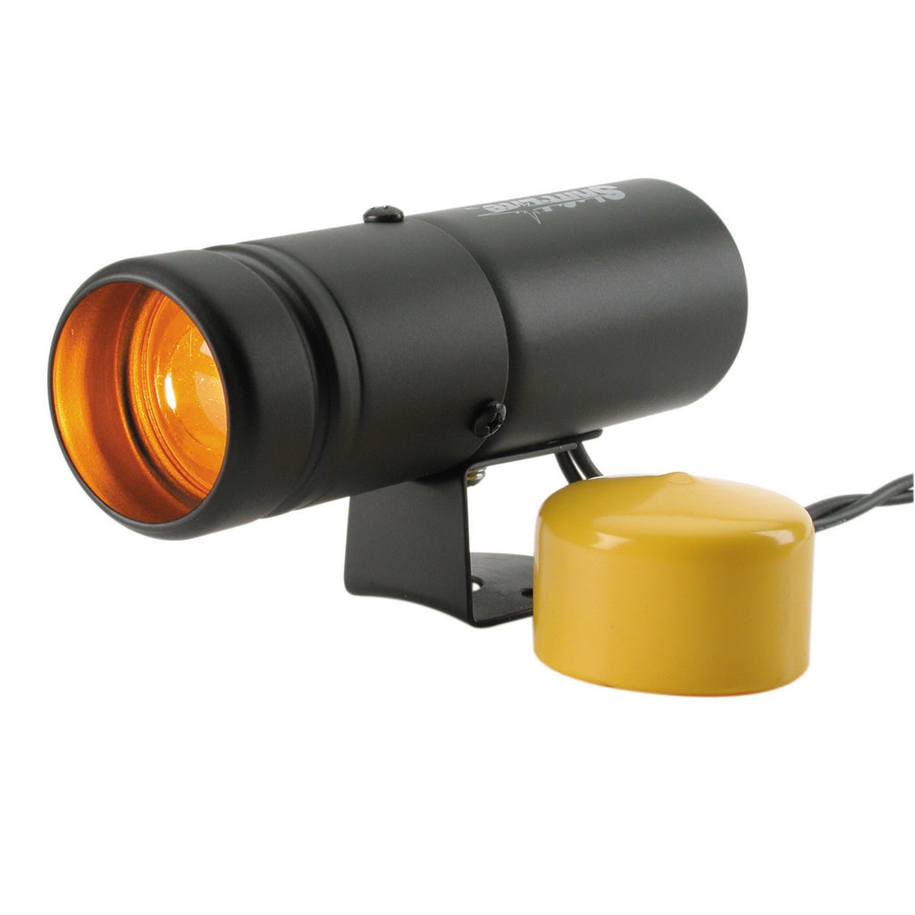 AutoMeter - SHIFT LIGHT, AMBER, PEDESTAL, BLACK, SHIFT-LITE (5334)