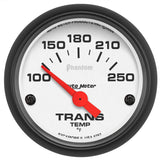 "AutoMeter - 2-1/16"" TRANSMISSION TEMPERATURE, 100-250 °F, AIR-CORE, PHANTOM (5757)"