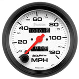 "AutoMeter - 3-3/8"" SPEEDOMETER, 0-120 MPH, MECHANICAL, PHANTOM (5892)"