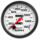 "AutoMeter - 5"" SPEEDOMETER, 0-160 MPH, MECHANICAL, PHANTOM (5895)"