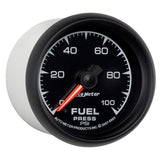 "AutoMeter - 2-1/16"" FUEL PRESSURE, 0-100 PSI, STEPPER MOTOR, ES (5963)"
