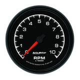 "AutoMeter - 3-3/8"" IN-DASH TACHOMETER, 0-10,000 RPM, ES (5997)"