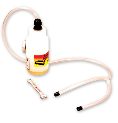 Long Acre - Racing Brake Bottle Bleeder Kit Kit Includes: 1 8oz. Bleeder Bottle & Hose (45202)