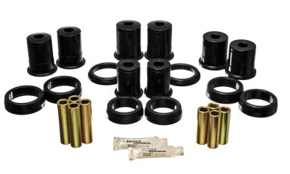 ENERGY SUSPENSION - Rear Control Arm Bushings Black Bushings Zinc Hardware (4-3114G)