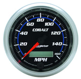 "AutoMeter - 3-3/8"" SPEEDOMETER, 0-160 MPH, ELECTRIC, COBALT (6288)"