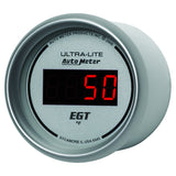 "AutoMeter - 2-1/16"" PYROMETER, 0-2000 °F, ULTRA-LITE DIGITAL (6545)"