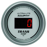 "AutoMeter - 2-1/16"" TRANSMISSION TEMPERATURE, 0-340 °F, ULTRA-LITE DIGITAL (6549)"