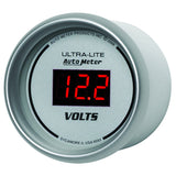 "AutoMeter - 2-1/16"" VOLTMETER, 8-18V, ULTRA-LITE DIGITAL (6593)"