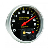 "AutoMeter - TACHOMETER, 5"", 0-10,000 RPM, IN-DASH W/PEAK MEMORY, PRO-COMP (6801)"